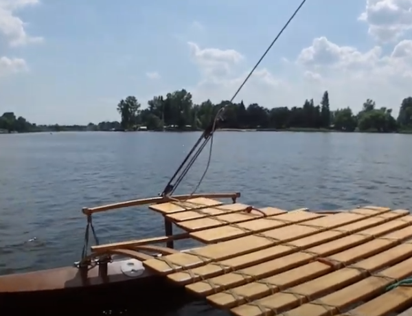 Puch trimming sailing